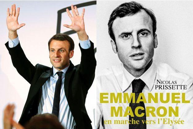 Emmanuel Macron est candidat à la présidentielle.