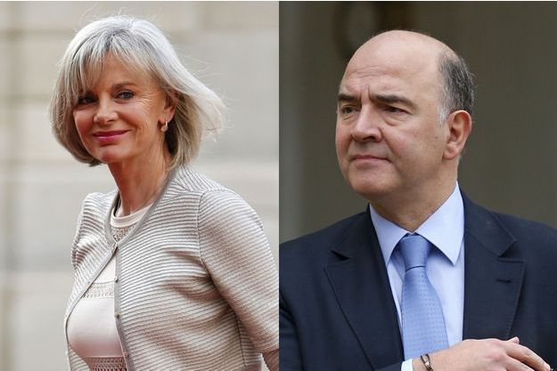 Elisabeth Guigou et Pierre Moscovici