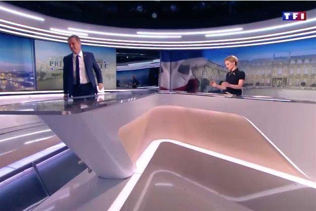Nicolas Dupont-Aignan a quitté le 20 heures de TF1 samedi.