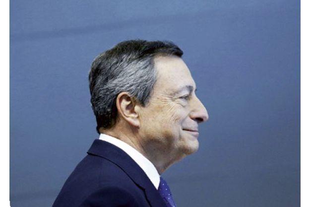 La reprise est «de plus  en plus solide», affirme Mario Draghi, président de la Banque centrale européenne.