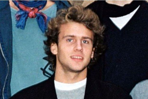 Emmanuel Macron à l'âge de 18 ans.