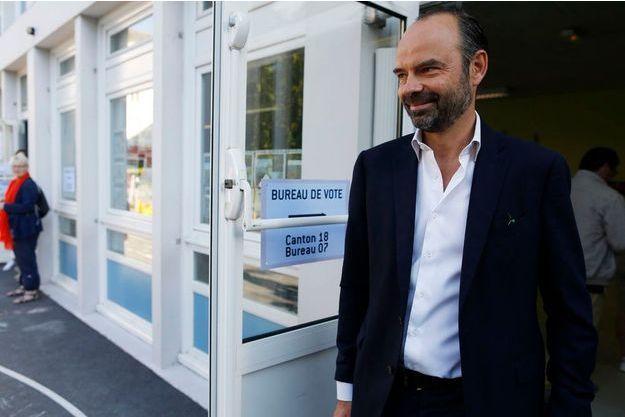Edouard Philippe a voté dimanche dernier au Havre.