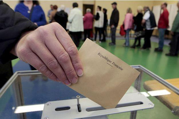 Photo d'illustration prise lors du second tour de l'élection départementale.