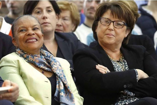Christiane Taubira et Martine Aubry (photo d'illustration)