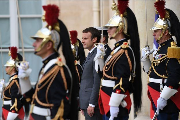 Emmanuel Macron le 31 juillet 2017 (photo d'illustration)