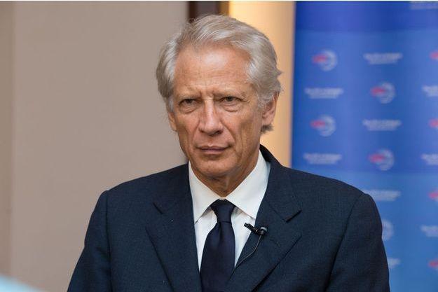 Dominique de Villepin, le 14 octobre 2016