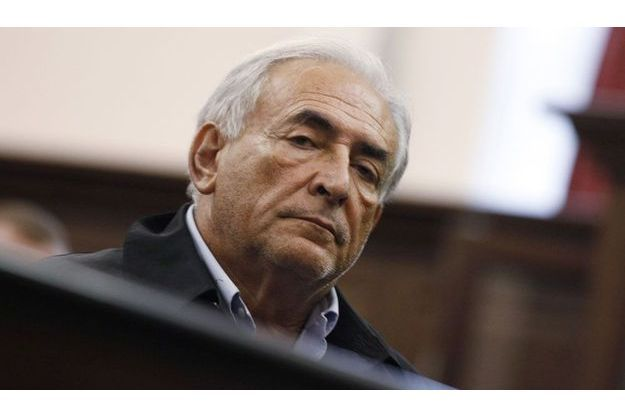 Dominique Strauss-Kahn lundi devant la cour criminelle de Manhattan.