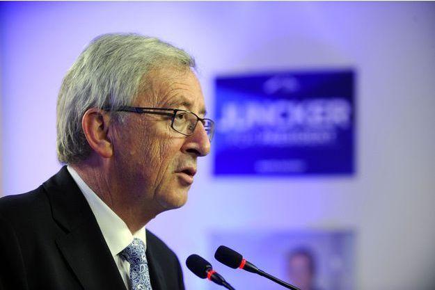 Jean-Claude Juncker, candidat du PPE à la présidence de la Commission, a revendiqué la victoire.