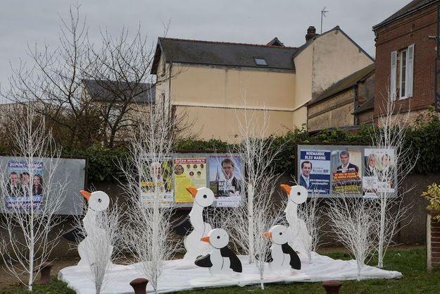A Nonancourt, les régionales passent au second plan des préoccupations, après les attentats, la Cop21, et même derrière les décorations de Noël.