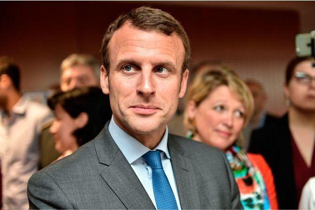 Emmanuel Macron, ministre de l'Economie.
