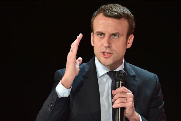 Emmanuel Macron le 31 janvier 2017.