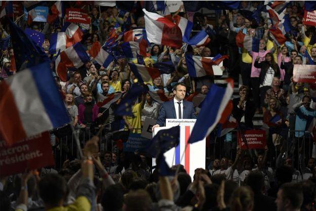 Emmanuel Macron à Lyon ce samedi.