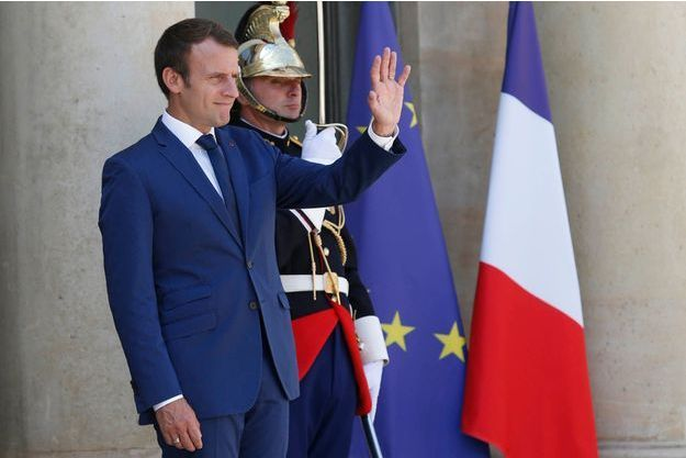 Emmanuel Macron le 18 juillet 2017.