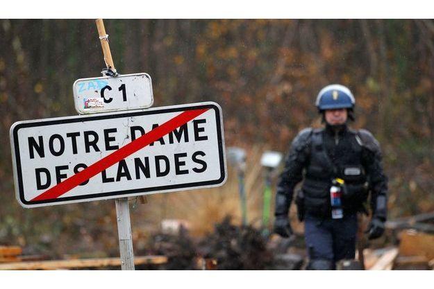 A Notre-Dame-des-Landes, le 23 novembre.