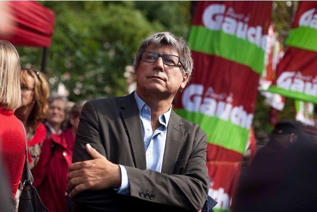 Eric Coquerel, secrétaire national aux relations unitaires du Parti de gauche, en septembre 2013.