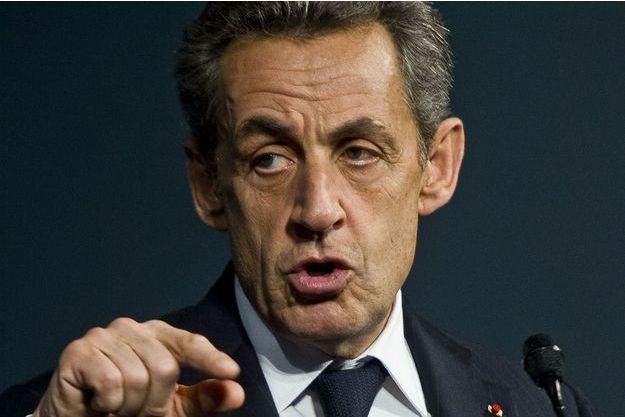 Sarkozy à Avignon, en novembre 2015.
