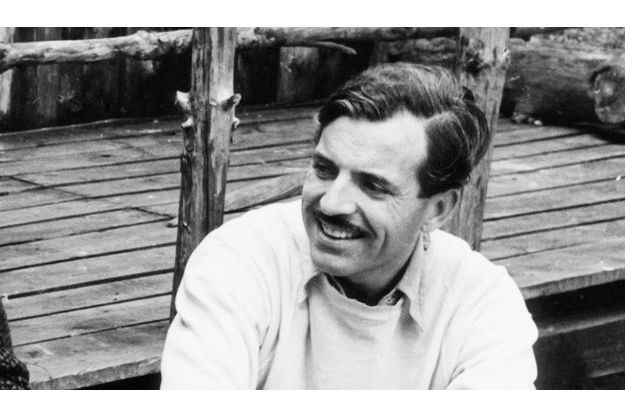 Maurice Herzog à Rambouillet en 1956.