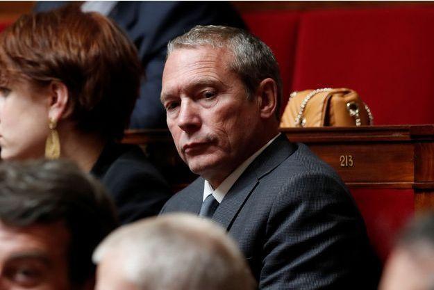 Jean-Michel Fauvergue,député LREM et ancien patron du Raid, ici à l'Assemblée en octobre.