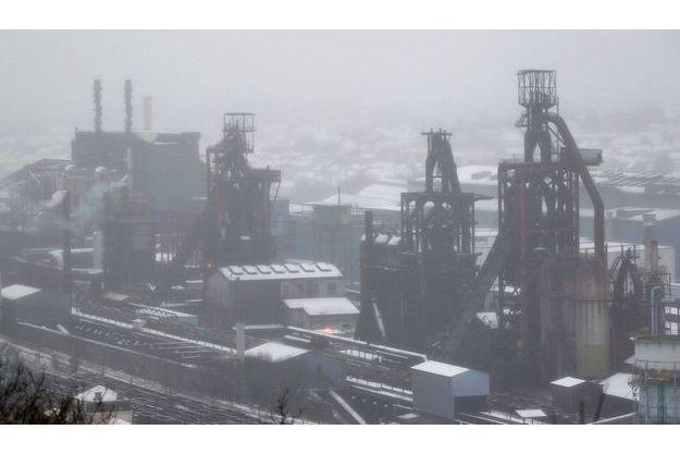 Un haut fourneau du site ArcelorMittal de Florange.