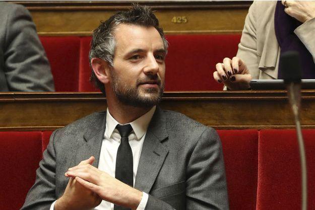 Florian Bachelier à l'Assemblée nationale le 28 novembre.