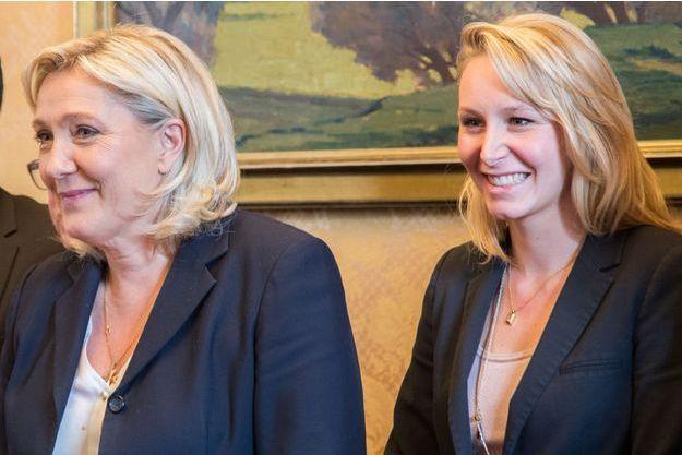 Marine Le Pen et Marion Maréchal-Le Pen.