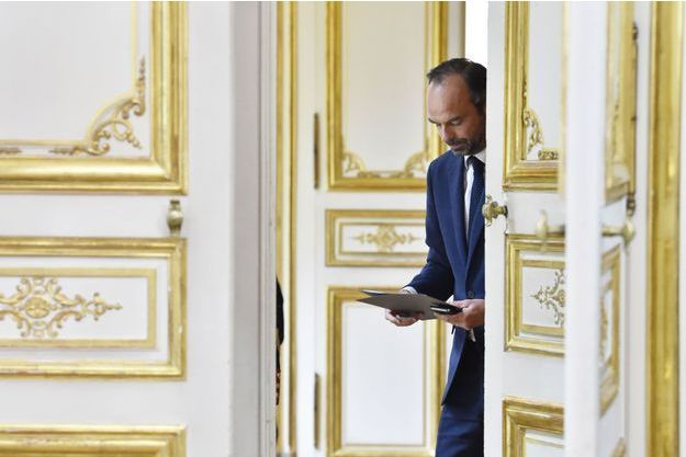 Edouard Philippe à Matignon lundi.