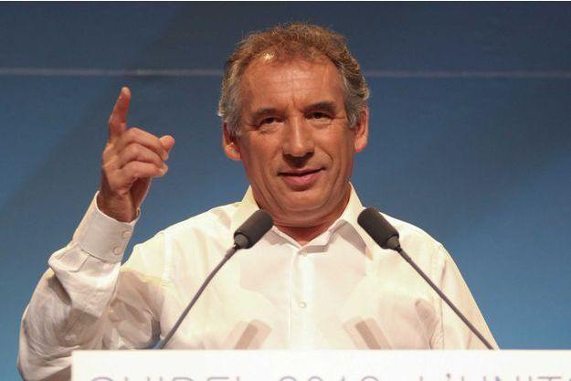 François Bayrou à Guidel, en 2013.