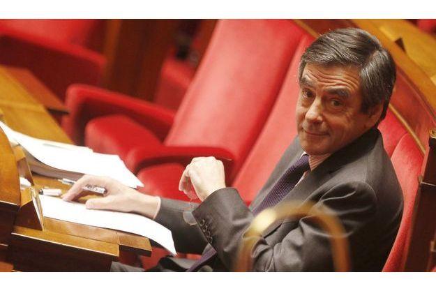 François Fillon à l'Assemblée nationale fin janvier.