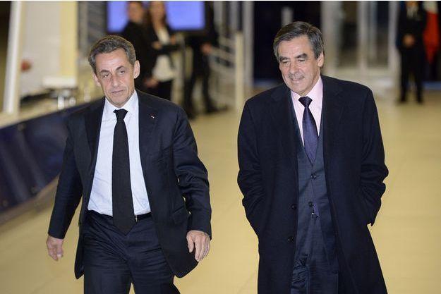 Nicolas Sarkozy et François Fillon en 2014