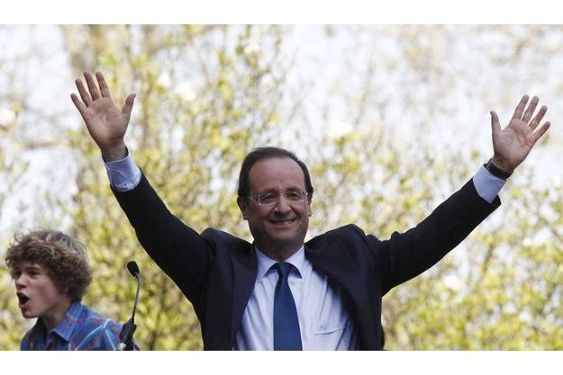 François Hollande, mardi, à Tours.
