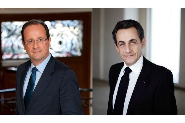 François Hollande devance Nicolas Sarkozy.