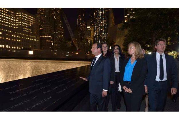 François Hollande et Valérie Trierweiler à New York.