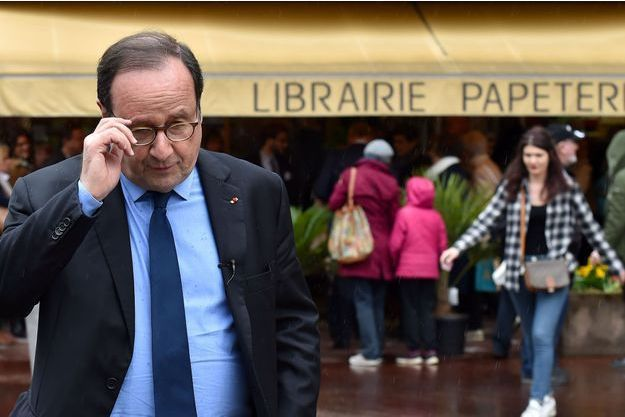 François Hollande à Tulle le 14 avril dernier.