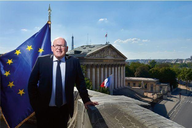 Frans Timmermans. Le diplomate néerlandais (ici à Paris) estime que l'Europe est en danger.Le diplomate néerlandais (ici à Paris) estime que l'Europe est en danger.