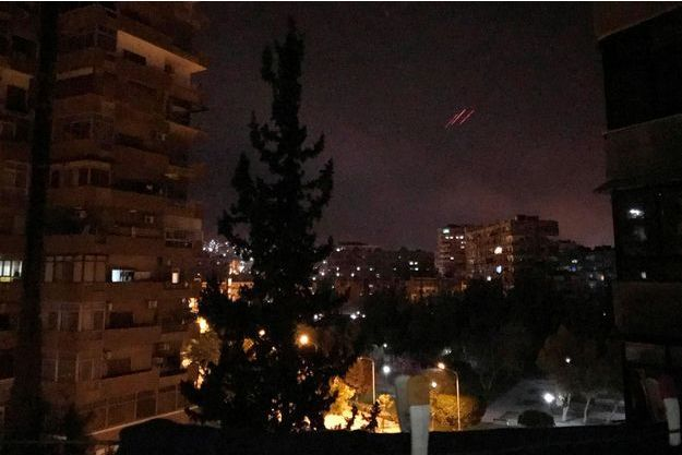 Les frappes ont été menées tôt samedi, sur Damas.