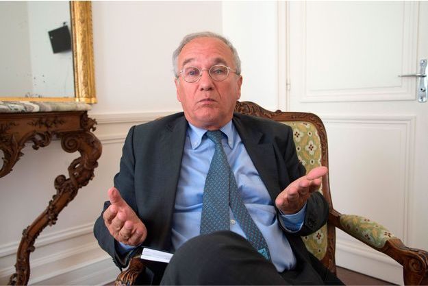 Gilles Carrez, le président UMP de la commission des Finances de l'Assemblée nationale.