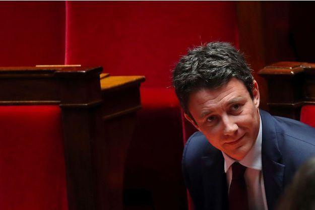 Le porte-parole du gouvernement, Benjamin Griveaux, à l'Assemblée nationale le 20 février.