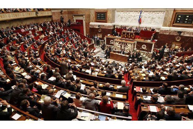 L'Assemblée nationale, le 11 juillet dernier, lors de la première séance de questions au gouvernement.