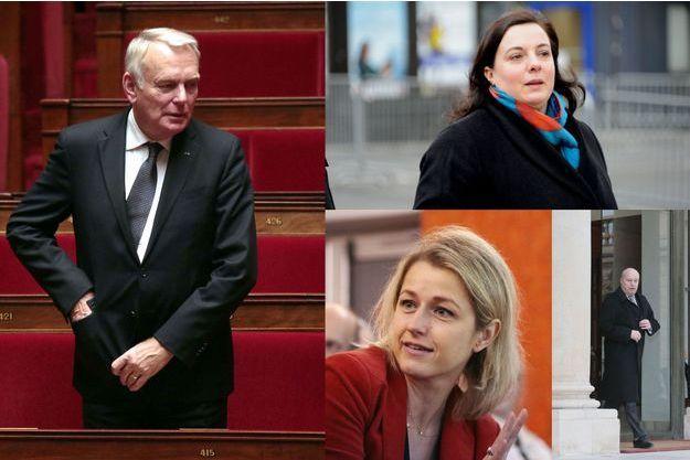 Jean-Marc Ayrault, Emmanuelle Cosse, Barbara Pompili et Jean-Michel Baylet.