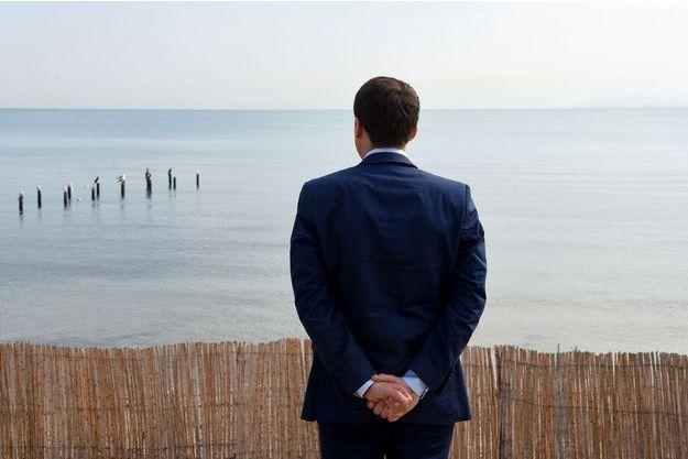 Emmanuel Macron a appris la nouvelle alors qu'il était à Tunis (photo d'illustration).