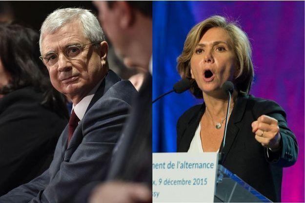 Claude Bartolone et Valérie Pécresse en campagne, le 9 décembre.