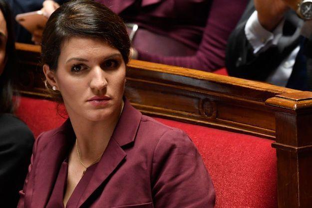 Marlène Schiappa, ici à l'Assemblée nationale en novembre dernier.