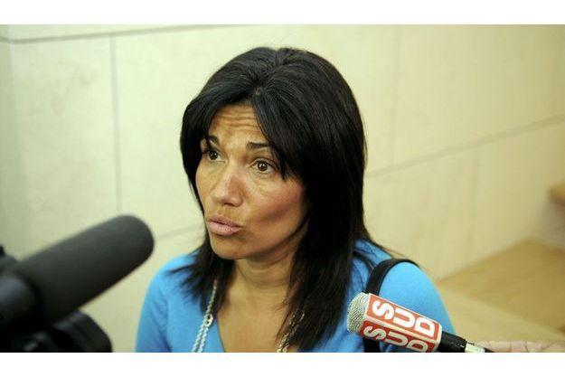 La sénatrice socialiste Samia Ghali, en 2011.