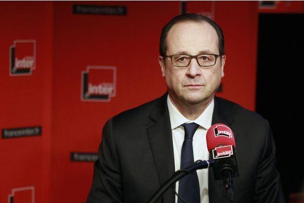 François Hollande, invité de France Inter lundi