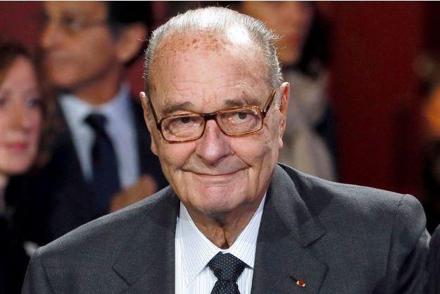 Jacques Chirac au musée du Quai Branly, à Paris, en novembre 2014.