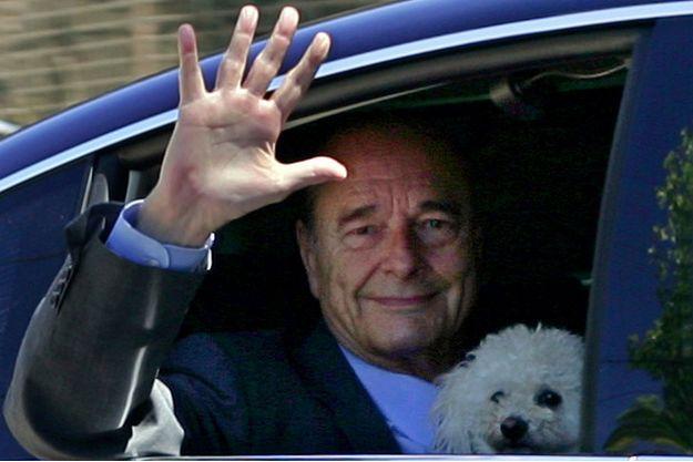 Jacques Chirac, alors président de la République, en août 2006 à Bregancon.