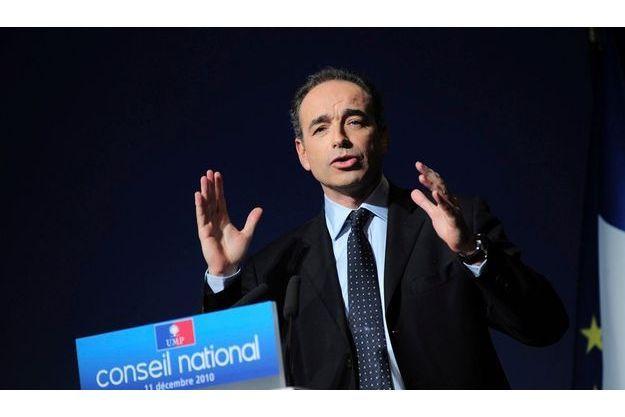 Jean-François Copé devant le conseil national de l'UMP, le 11 décembre dernier.