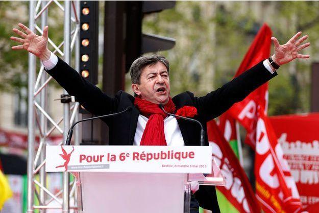 Jean-Luc Mélenchon le 5 mai dernier.