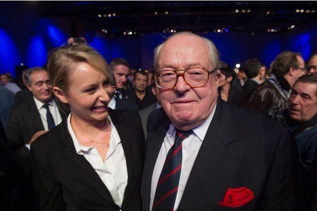 Marion Maréchal-Le Pen et son grand-père Jean-Marie.