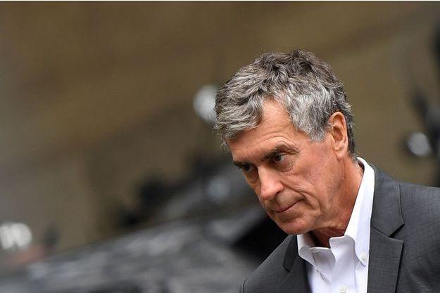Jérôme Cahuzac de mardi au tribunal.